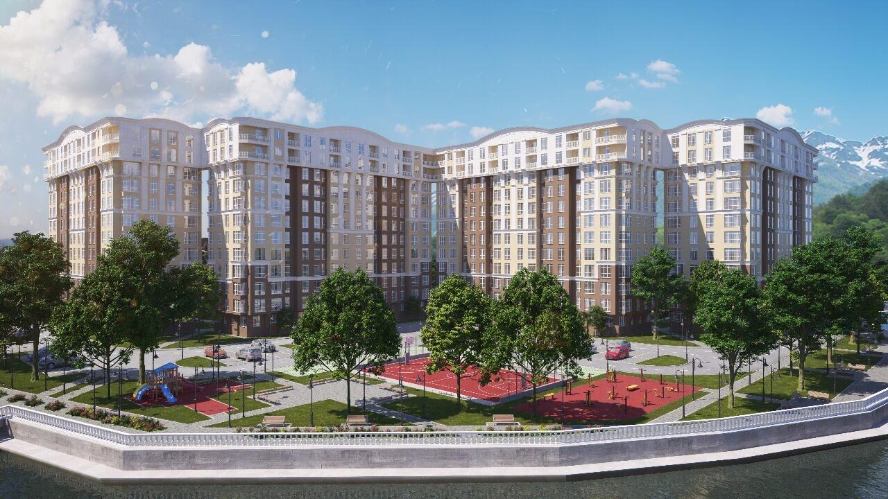 Продажа 2-комнатной квартиры в ЖК «Кватро» (62,21 м²)