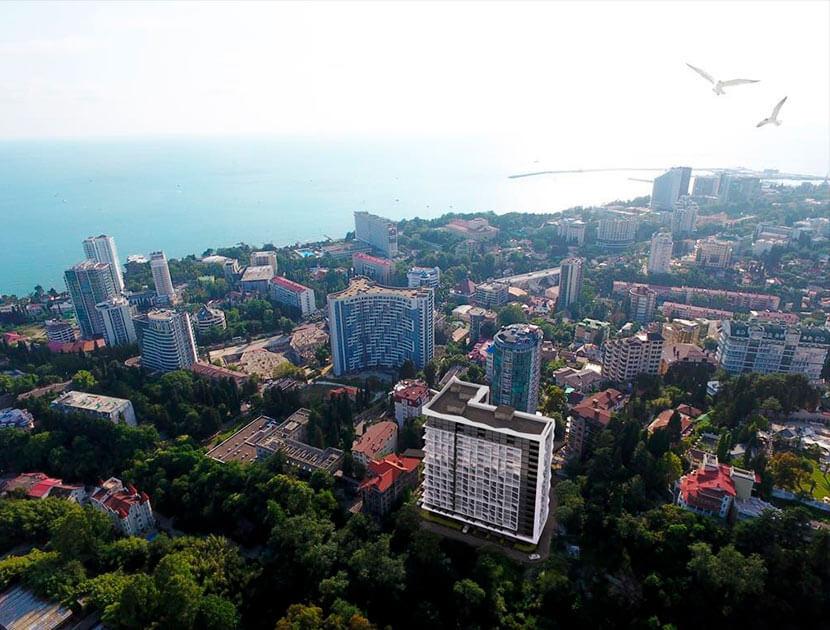 Продажа 2-комнатной квартиры в ЖК «Метрополь» (48,69 м²)