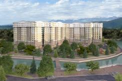 "FrontRiver 244x163 - Продажа 2-комнатной квартиры в ЖК ""Кватро"" (49,50 м²)"