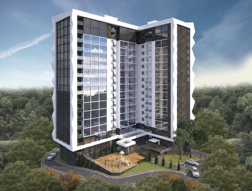 Продажа 1-комнатной квартиры в ЖК «Метрополь» (28,02 м²)