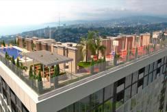 """roof2 244x163 - Продажа 1-комнатной квартиры-студии в ЖК """"Метрополь"""" (21,28 м²)"""