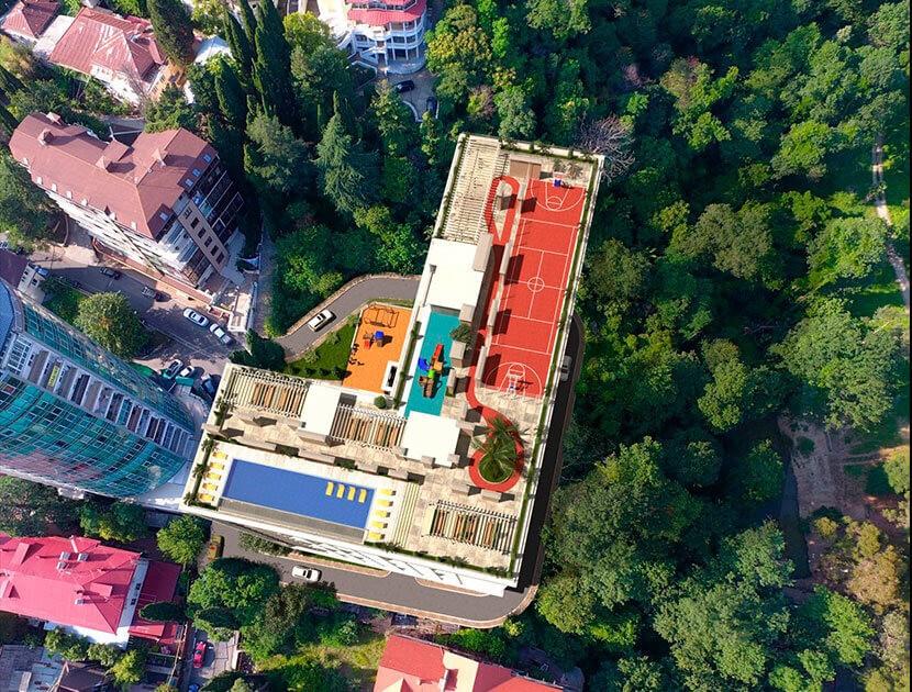 Продажа 1-комнатной квартиры-студии в ЖК «Метрополь» (17,09 м²)