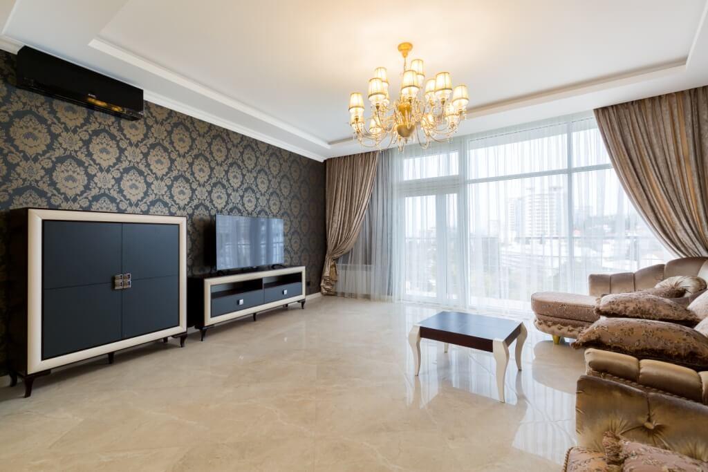 Продажа 3-комнатных апартаментов на Курортном проспекте (108 м²)
