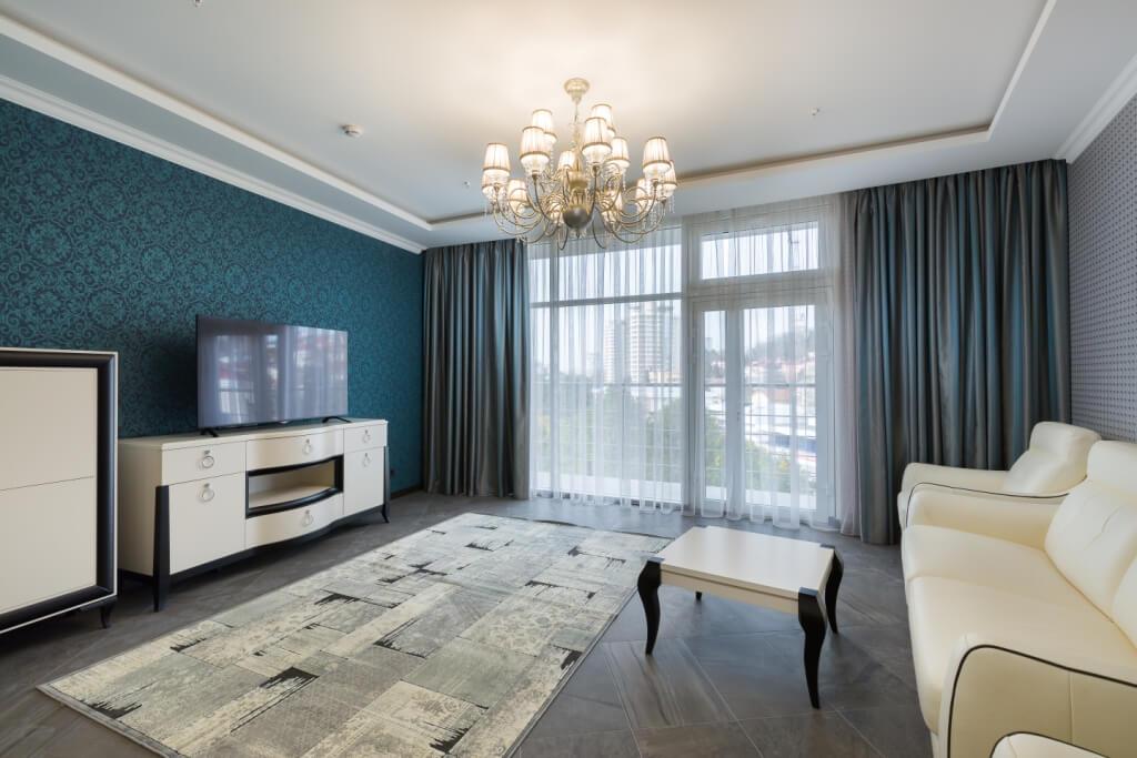 Продажа 3-комнатных апартаментов на Курортном проспекте (105 м²)
